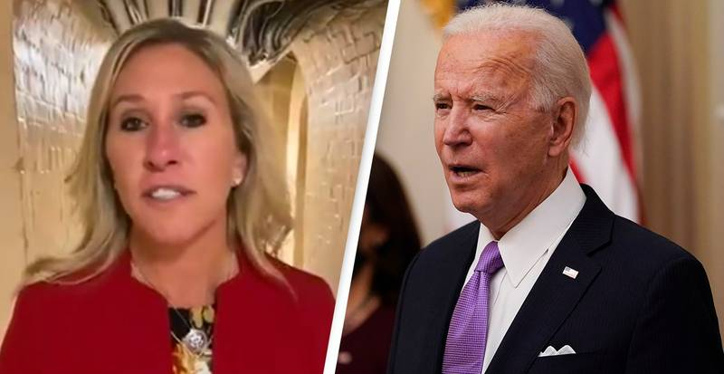 QAnon Supporting Congresswoman Files Articles Of Impeachment Against Joe Biden