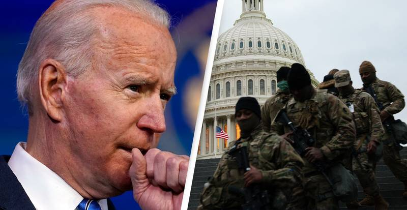 US Defence Officials Fear Possible Inside Attack At Biden's Inauguration