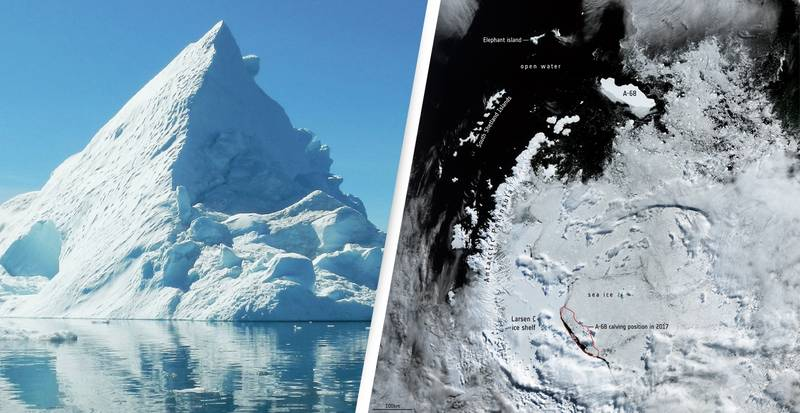 The Biggest Iceberg In The World Has Almost Completely Melted Away