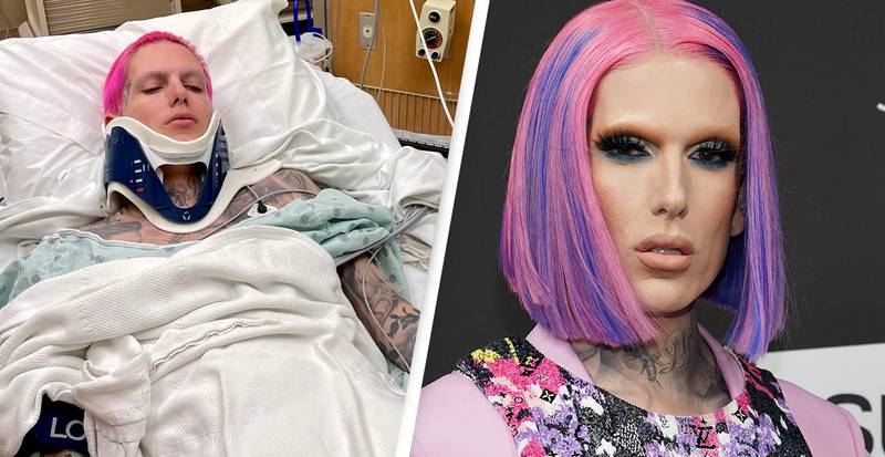 Jeffree Star Says He's In 'Excruciating Pain' After Breaking His Back In Car Accident