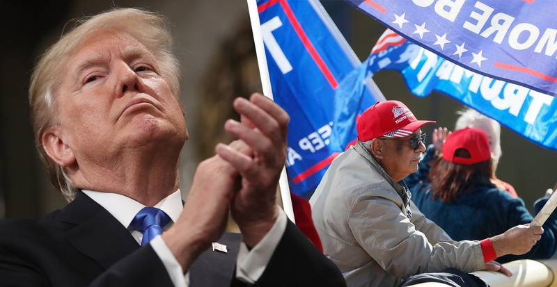 Trump Needs To Pay $570,000 Debt To El Paso Before He Tours Border, Judge Says