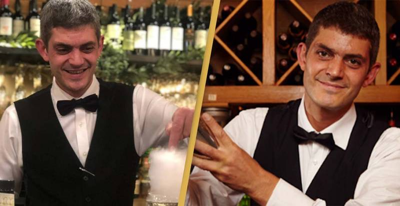 First Dates Barman Merlin Griffiths Reveals Cancer Diagnosis