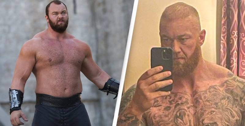The Mountain From Game Of Thrones Shares Incredible Body Transformation Ahead Of Boxing Match