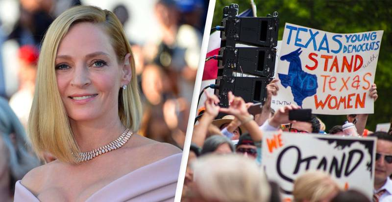 Uma Thurman Opens Up About Her Abortion As She Addresses Texas Law