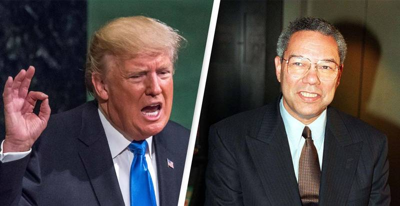 Donald Trump's 'Disgusting' Statement Following Colin Powell's Death Sparks Outrage