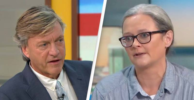 Richard Madeley Left Speechless At Insulate Britain Protester Swearing On TV Is Branded 'Comedy Gold'