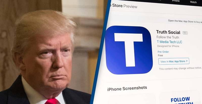 Donald Trump's New Social Media Truth Platform Hacked Within Hours Of Launch Announcement