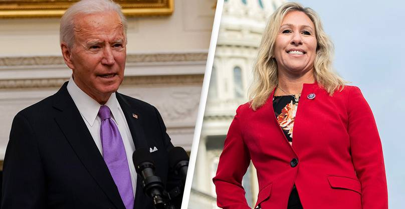Congresswoman Who Said She'd Filed Impeachment Articles Against Biden Hasn't Actually