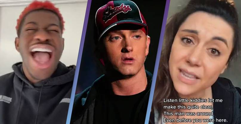 Lil Nas X Trolls Millennials Trying To Defend Eminem From Gen Z