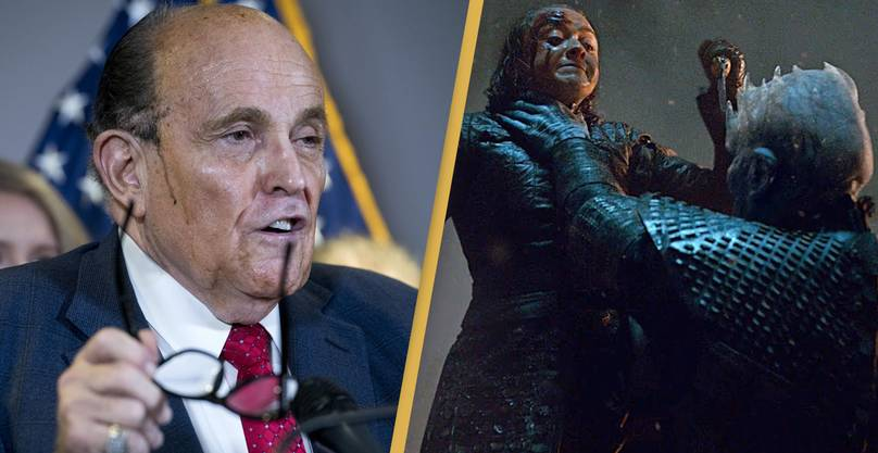 Rudy Giuliani Mistakes Game Of T