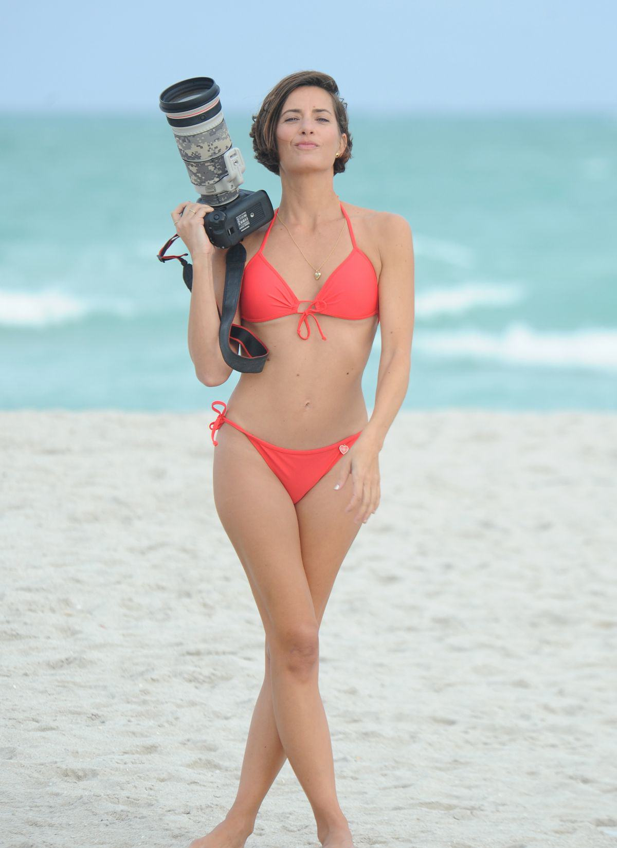 Is This The Worlds Hottest Celebrity Pap? logan fazio in bikini at a beach in miami beach 1