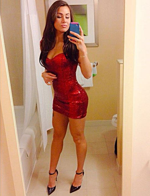 20 Girls That Make Us Jealous Of Their Outfit tight dress girls 191