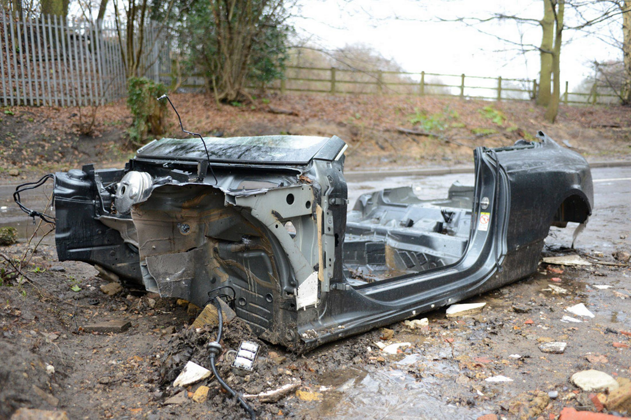 Audi RS5 Worth £60K Stripped To Its Chassis After Breaking Down In Floods Audi RS5 Stripped 3116665