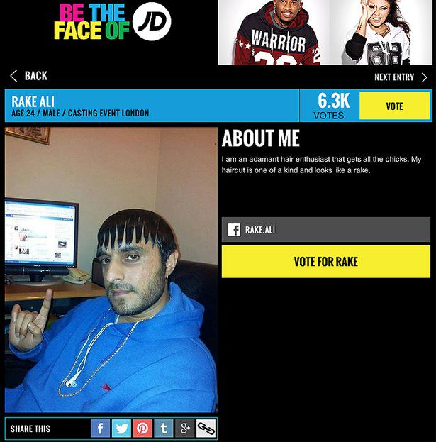 Ladies Man Rake Ali Is About To Become The Face Of JD Sports Face of JD 3116659