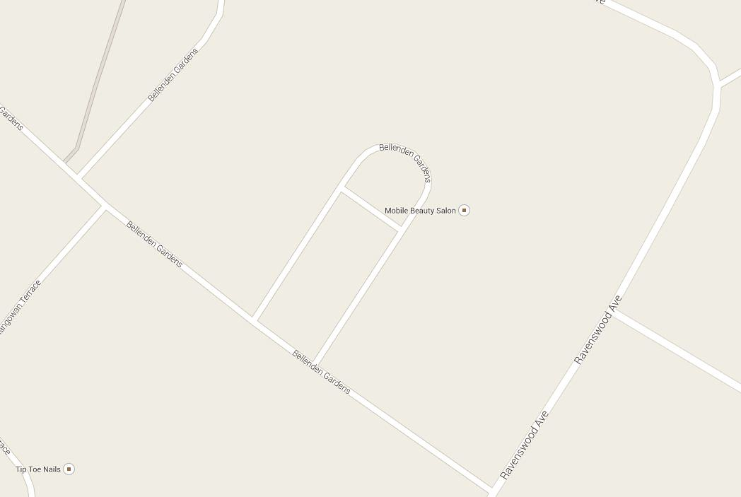 Youll Never Guess How Bellenden Gardens Is Shaped.. bell end