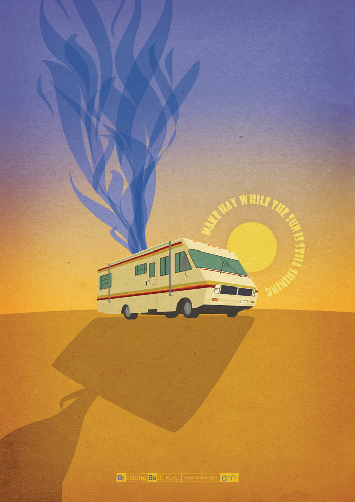Designer Creates Amazing Posters For Every Breaking Bad Episode tumblr mvu5uiEeXd1slqxs4o1 1280