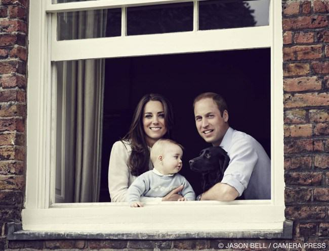 Photo Confirmation That Prince George Is Still A Baby ad 131069676 e1396167439877