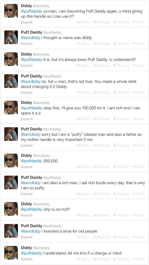 Diddy Begs Twitter Users For Their Handles After Recent Name Change 90ecd8794434a9de4ce5702cec4bde3f width 640x