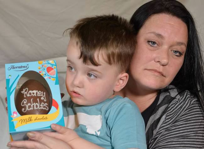 Boy Named After Wayne Rooney Refused Name On Easter Egg   Uni Lad ad 132359726