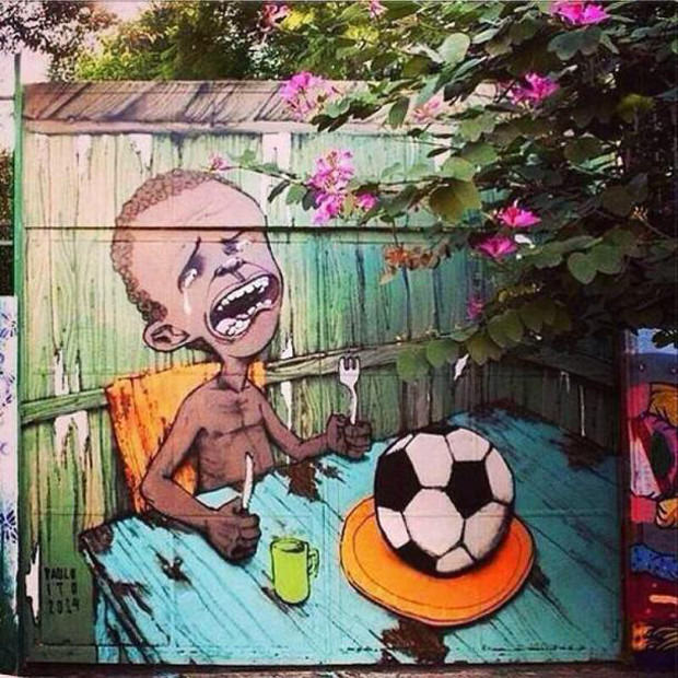 Brazils Anti FIFA Graffiti Ahead Of The World Cup 53860f9c0b543