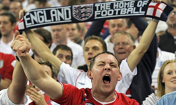 England Fans Ranked Top Of Social Media World Cup England Football Fans