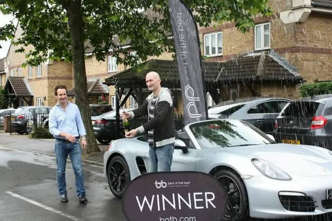 Man On Benefits Wins £53K Porche In Spot The Ball Game ad 136883575