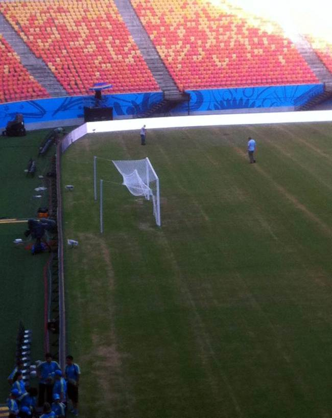 This Is The Pitch England Will Be Playing Their First Match On ad 137405919