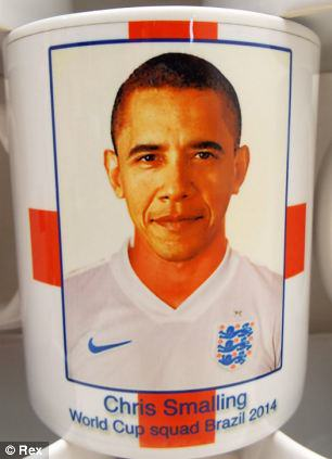 Chris Smalling Mistaken For Barack Obama By Merchandise Company article 0 1F0A22E000000578 337 306x423 1