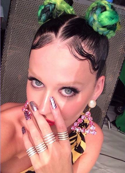 Katy Perry Has Bleached Her Eyebrows! WTF katy perry eyebrows