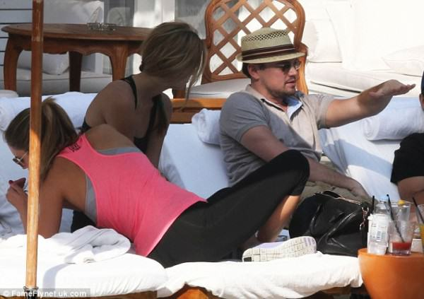 Leo DiCaprio Is Tearing Rio A New One During World Cup leo brazil 2