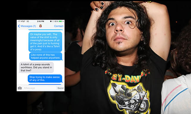Guy Gets High On Mushrooms At Comic Con, His Texts Are Incredible 132