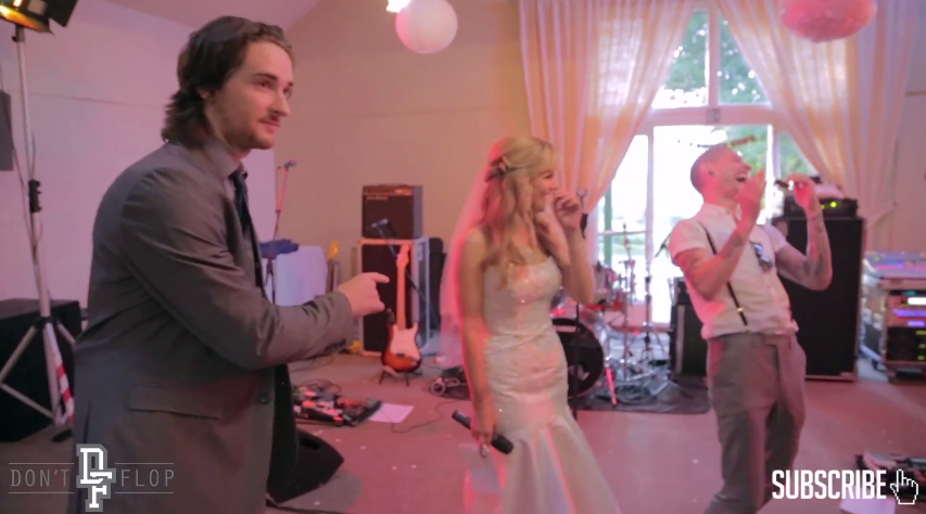Two Battle Rappers Crash A Wedding With An Epic Speech 22