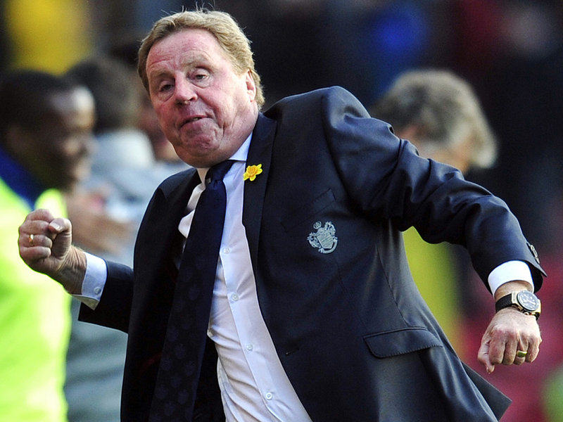 QPR Set To Sign Ronaldinho On A One Year Deal Harry Redknapp celeb at Southampton 2908958