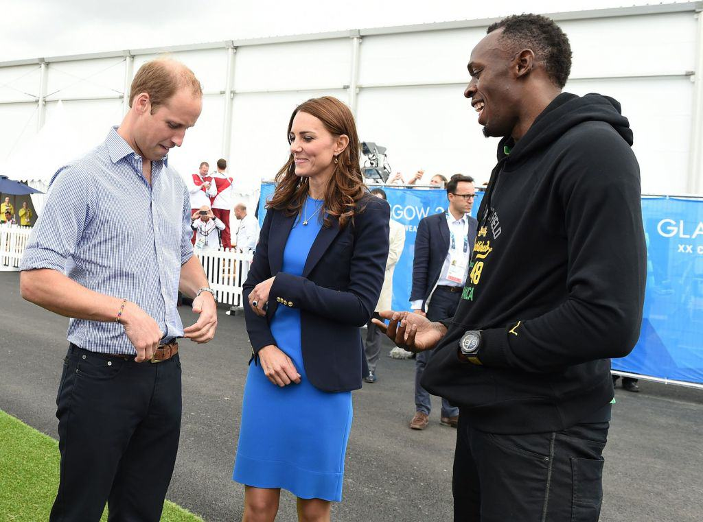 Usain Bolt Says The Commonwealth Games Are A Bit Sh*t Royals at Commonwealth Games