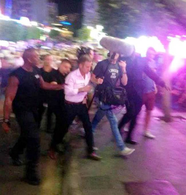 Jeremy Kyle Pepper Sprayed By Bouncer In Magaluf ad 140653716