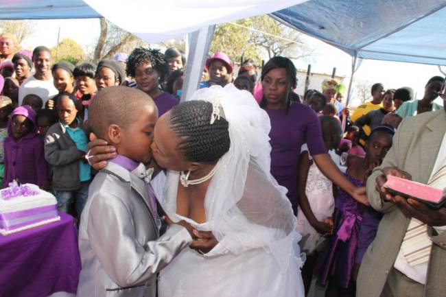9 Year Old South African Boy Remarries His 62 Year Old Wife ad 140814744