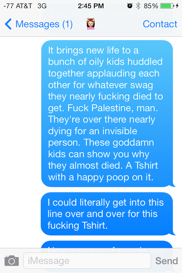 Guy Gets High On Mushrooms At Comic Con, His Texts Are Incredible comic con shrooms 04
