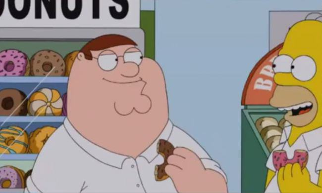 Family Guy Returning To BBC2 For First Time In Almost A Decade family guy simpsons1