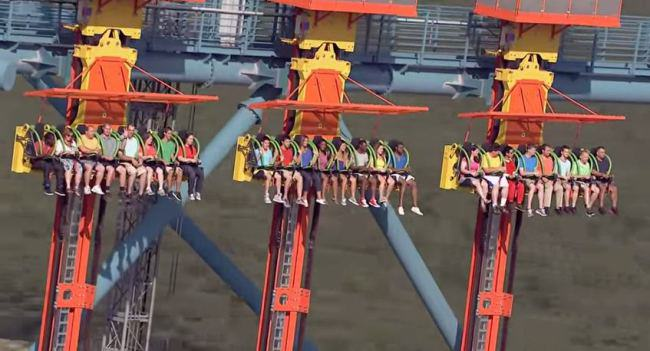 The Worlds Tallest Drop Ride Is Not For The Faint Hearted ride
