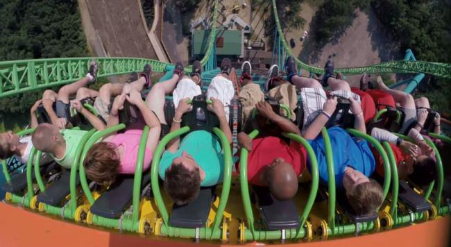 The Worlds Tallest Drop Ride Is Not For The Faint Hearted ride1
