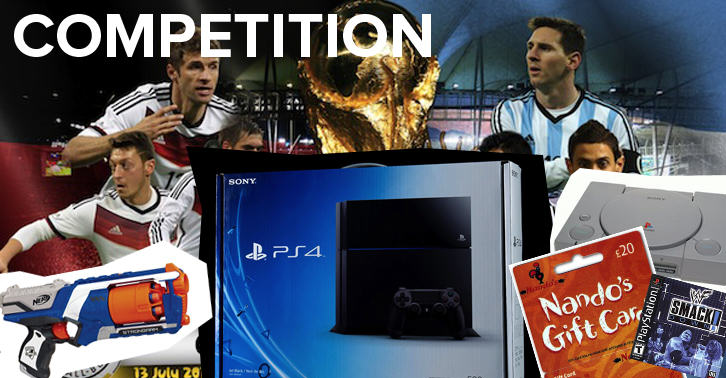 COMPETITION: Who Will Win The World Cup? Win A PS4.  wccomp