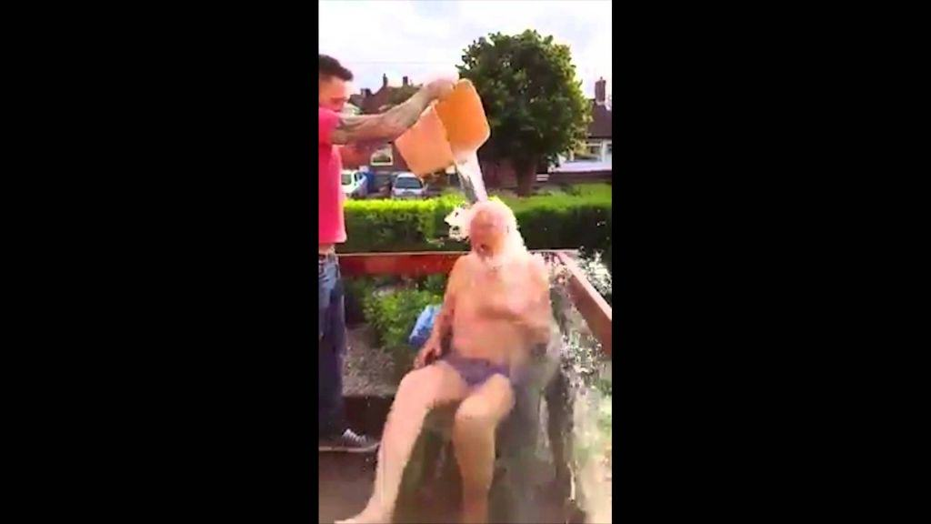 102 Year Old Lad Completes His Ice Bucket Challenge 102 year old lad completes his i