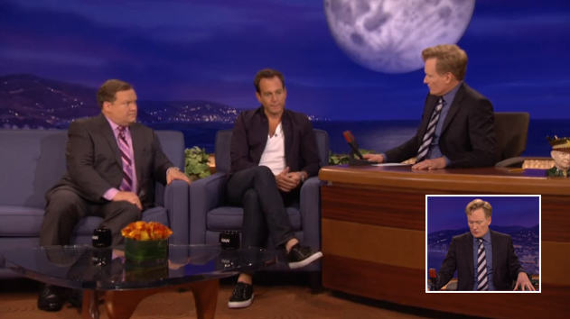 TV Host Conan OBrien Breaks Robin Williams Death To Guests And Audience 112