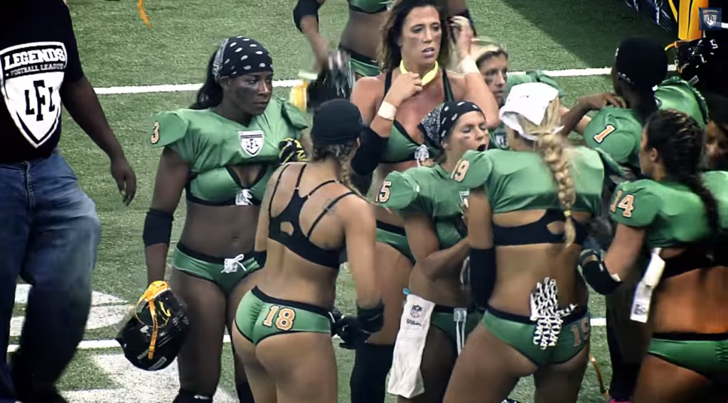 Womens American Football Is Brutal But Sexy 21