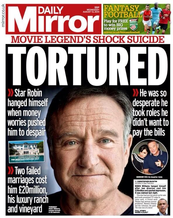 Robin Williams Is Being Shamed And Disgraced By British Tabloids Bu36WmwIYAAlIbo
