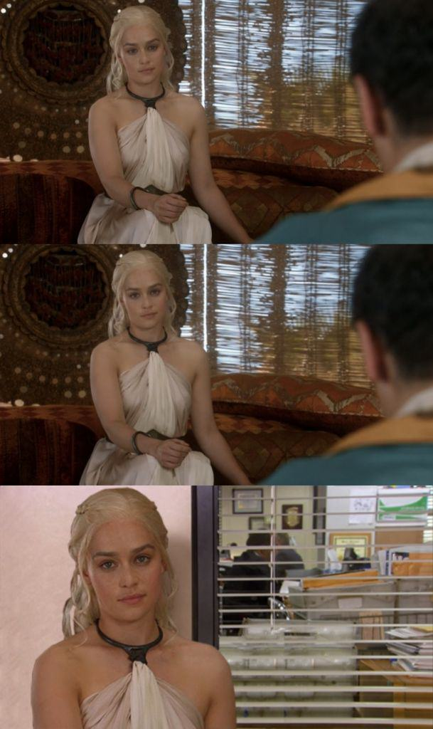Someone Made A Game of Thrones Intro With The Office Theme Tune Daenerys Targaryen