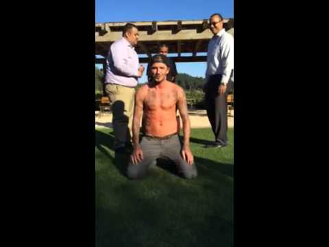 Beckham Does Ice Bucket Challenge, Nominates Leonardo DiCaprio beckham does ice bucket challeng