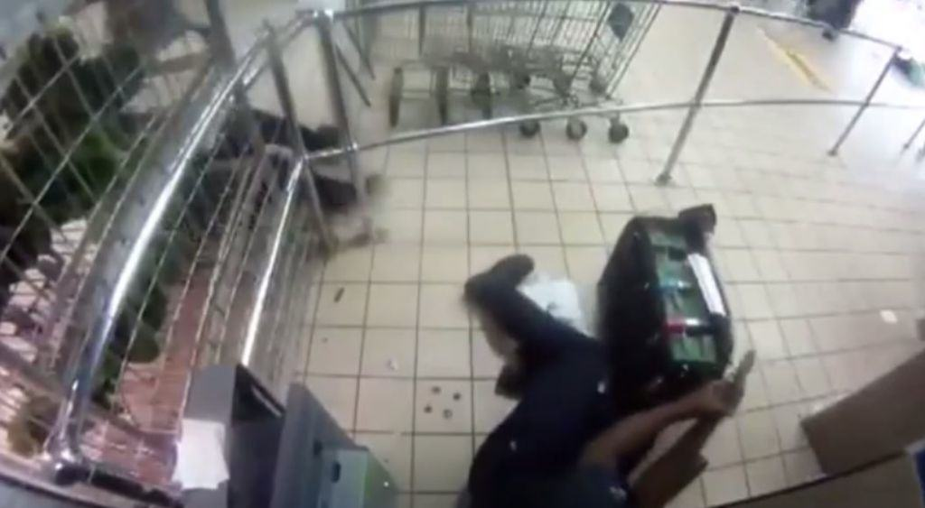 Shoot Out At ATM Machine Whilst Transporting Money shoot out