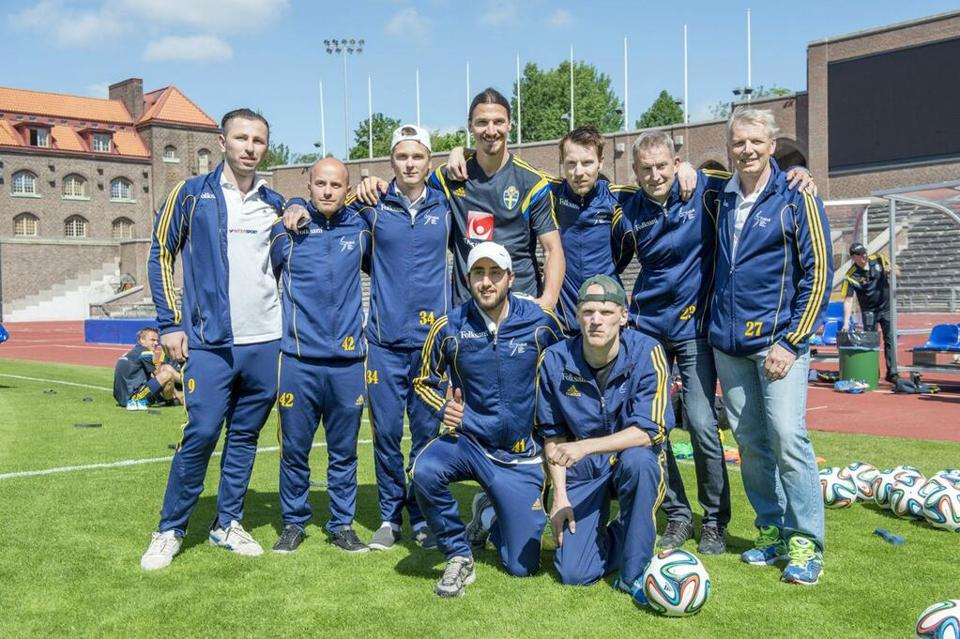 Zlatan Ibrahimovic Pays For Swedish Learning Disabled Team To Go To INAS World Cup In Brazil zlatan