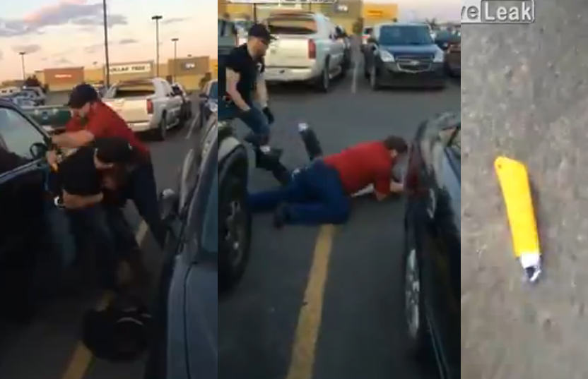 Walmart Staff Almost Gets Stabbed Trying To Detain Thief 1